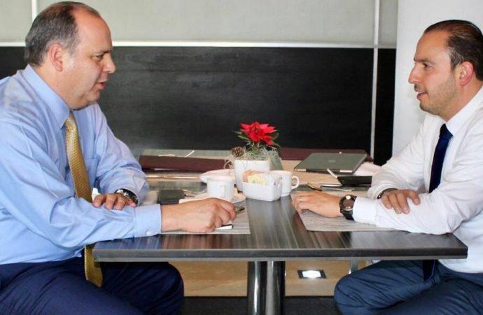 Se reúnen PAN y Coparmex para intercambiar puntos de vista sobre la situación del país