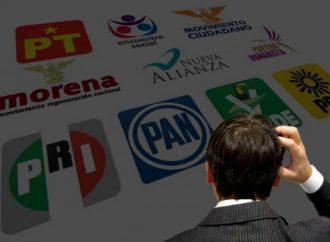 Sólo el 11% de los mexicanos confía en partidos políticos, afirma investigación de Latinobarómetro