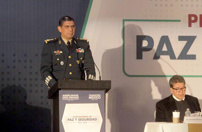 Guardia Nacional entrará en operación el 1º de diciembre
