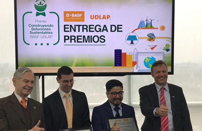 """BASF y la UDLAP reconocen a los ganadores del Premio """"Construyendo Soluciones Sustentables"""""""