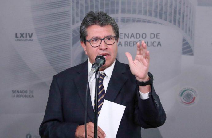 Queparejas mexicanas del mismo sexo puedan contraer matrimonio en el extranjero, urge Ricardo Monreal