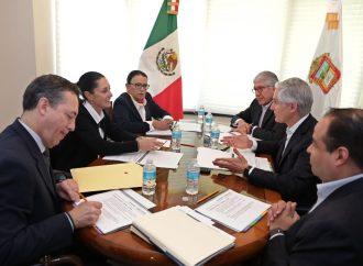 Sheinbaum y Del Mazo se reúnen en la CDMX