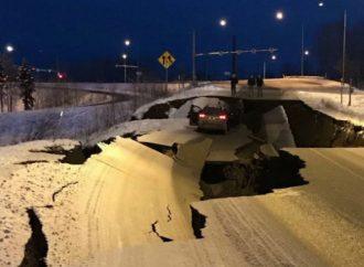 Sacude fuerte sismo de 7.0 el sur de Alaska; emiten alerta de tsunami