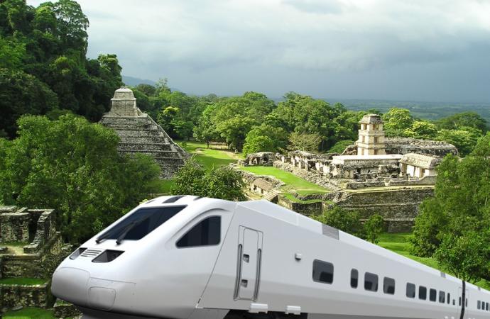 Aclara López Obrador que la consulta sobre Tren Maya será la próxima semana
