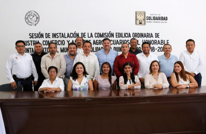 Se instala Comisión Edilicia Ordinaria de Industria, Comercio y Asuntos Agropecuarios