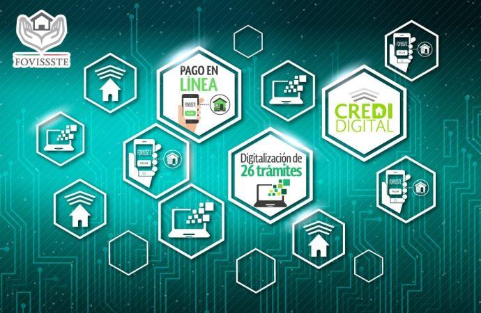 FOVISSSTE es la única Institución pública que permite la formalización de créditos vía digital