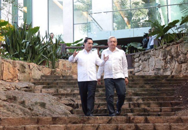 Presidente electo y varios de sus colaboradores alistan detalles del Tren Maya