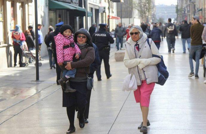 Alerta Naranja por aguanieve y frío en la capital