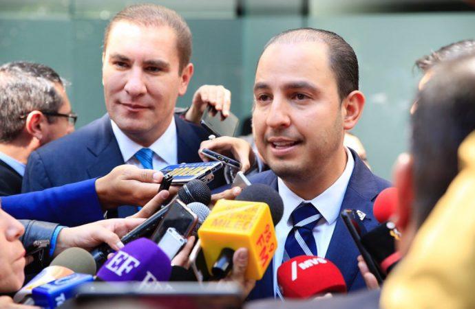 Designan a Moreno Valle como coordinador del PAN en el Senado