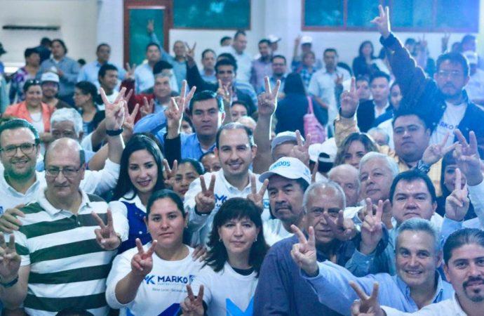 Son bienvenidos en el PAN todos los que respeten sus valores y principios: Marko Cortés