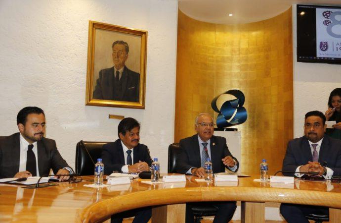 Politécnico presenta atlas de riesgo al alcalde de Gustavo A. Madero