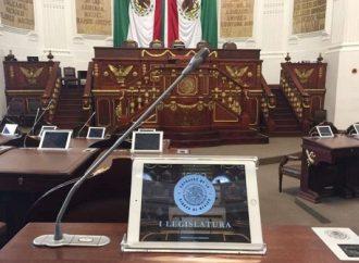 Por falta de quórum, suspenden sesión en Congreso de la CDMX