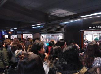 Segundo día de caos y retrasos en servicio del Metro