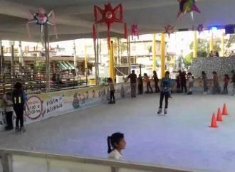 Este viernes inauguran la primera pista de hielo en Venustiano Carranza