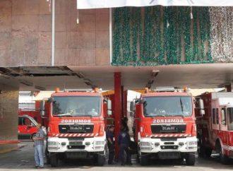 Sube de intensidad Conflicto laboral entre bomberos de la CDMX