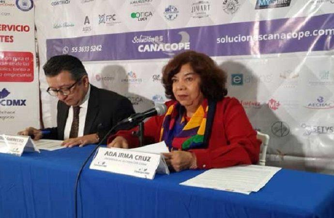 Con Sheinbaum al frente del gobierno capitalino, inicia nueva etapa: Canacope