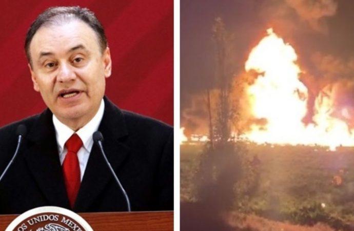 Instalan Comité Nacional de Emergencias por explosión de ducto de Pemex en Hidalgo