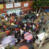 Exigen padres de familia todo el peso de la ley contra conductor que atropelló a 3 personas afuera de Primaria en Iztacalco