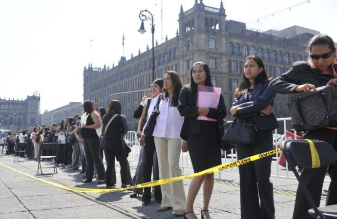 Recorte de burócratas sube tasa de desempleo