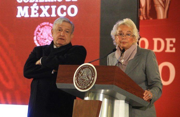 Estado mexicano, más fuerte que robo de combustible, dice Sánchez Cordero