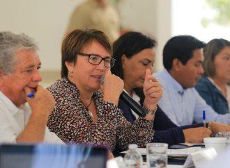 Laura Beristain reconoce que el Tren Maya detonará las inversiones beneficiando a los solidarenses