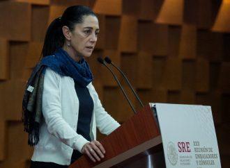 Sheinbaum ofrece esquemas de reconstrucción a los afectados por sismo