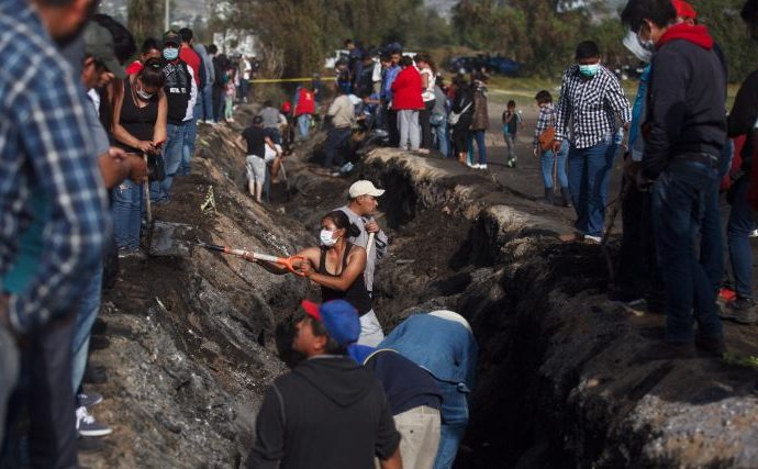 Hidalgo, el estado con más tomas clandestinas reparadas en lo que va del año