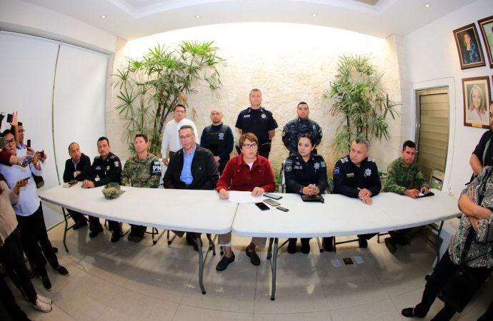 Respaldan hoteleros  a  Laura Beristain en su trabajo por la seguridad de Solidaridad