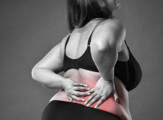 Obesidad puede provocar deformidades y fracturas de columna vertebral