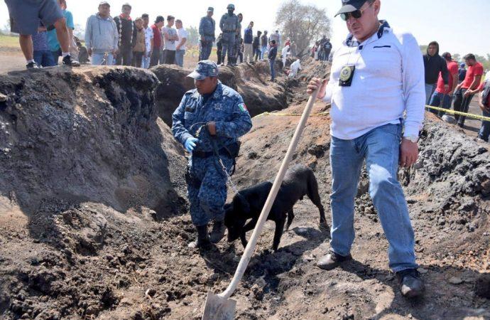 Llevará meses identificar 59 restos de la explosión en Tlahuelilpan
