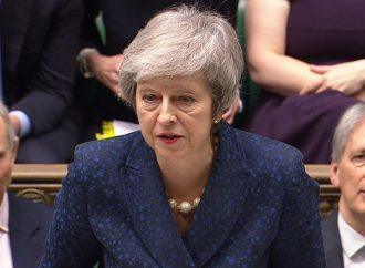 Rechaza parlamento británico plan de May para salida de la UE