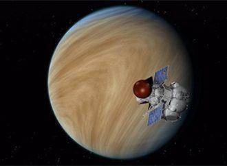 Científicos estudian patrón hallado en las nubes de Venus