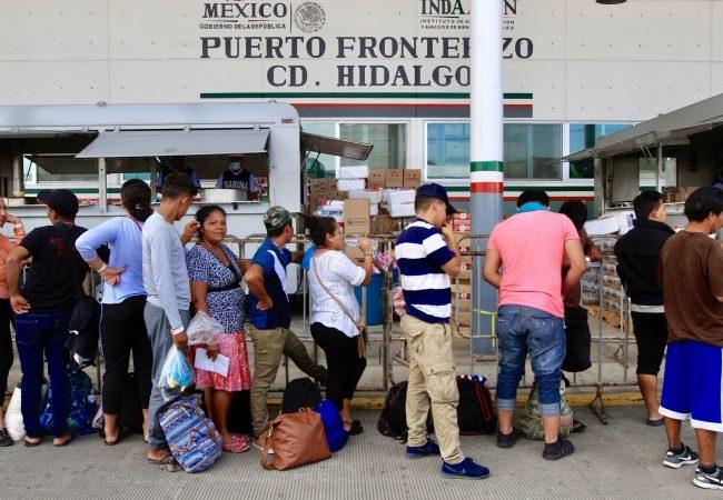 Acreditan a más de cuatro mil migrantes centroamericanos como visitantes