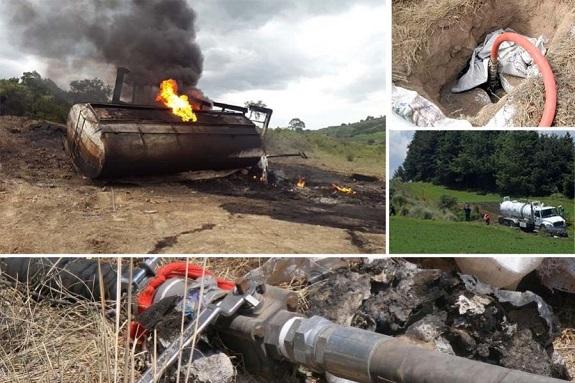 Suman 435 detenidos por robo de combustible