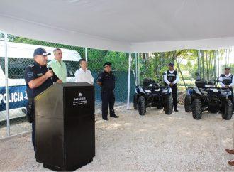Fortalece seguridad en el municipio la coordinación con el sector empresarial