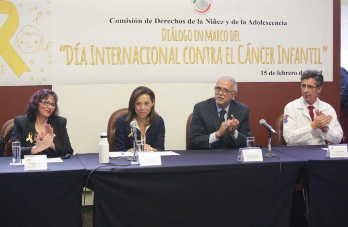 Se comprometen legisladores a emprender una cruzada en favor de niños con cáncer