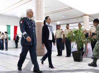 GCDMX, presente en el CVI Aniversario del Ejercito Mexicano