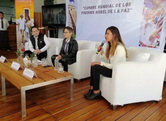 Mérida albergará Cumbre Mundial de Premios Nobel de la Paz 2019