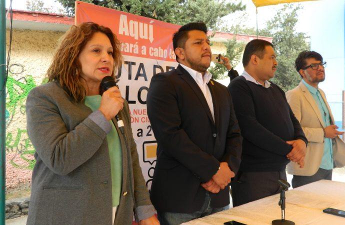 """""""La nueva Ley de Partipación Ciudadana debe ser la reconciliación entre la comunidad y sus instituciones"""": Dip. Donají Olivera"""