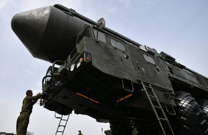 Rusia realiza con éxito un lanzamiento de su misil intercontinental Yars