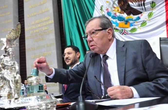 Muñoz Ledo llama a la unidad y clausura trabajos de Comisión Permanente