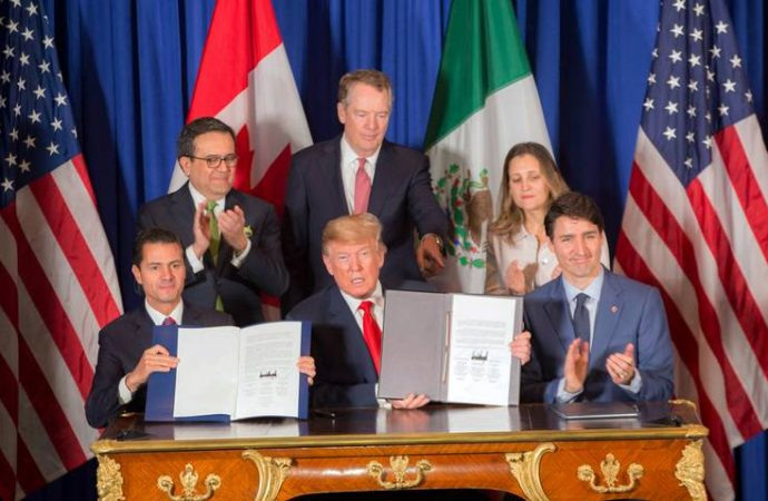 México pagó 20 mdp para cabildear el T-Mec