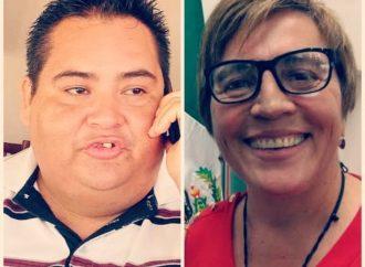 Laura Beristain y Carlos Narváez, con denuncia penal por atentar contra la prensa