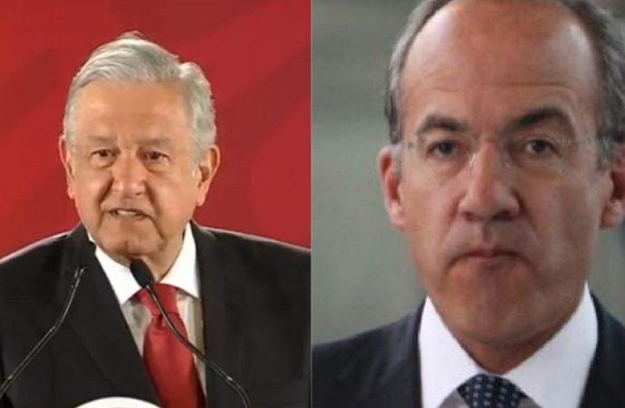 """AMLO le """"ofrece disculpas"""" a Calderón"""