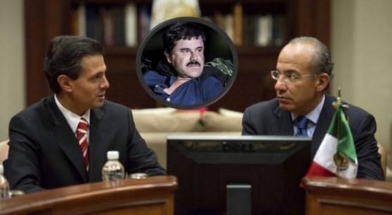 EPN – El Chapo. Estuvimos en manos de delincuentes