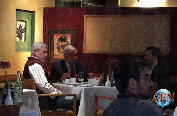 El Presidente se reúne con Bonilla