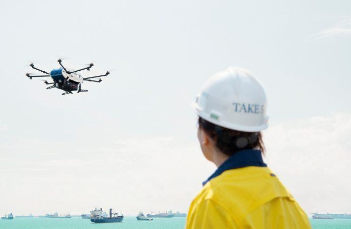 Lanza Airbus proyecto para transporte multimodal con drones