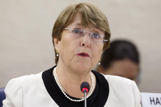 """Crisis en Venezuela, """"exacerbada"""" por sanciones: Bachelet"""