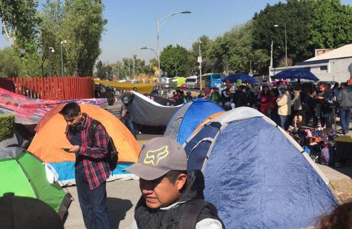 CNTE bloquea San Lázaro tras aprobación de reforma educativa