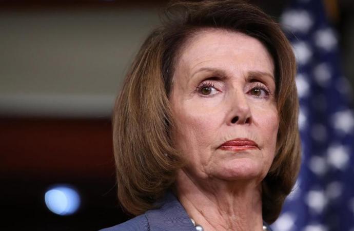 Muro de Trump es inútil y derrochador: Nancy Pelosi